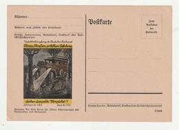 """Deutsches Reich - Vordruckpostkarte """"DRPost Nr. 385"""" Mit Abb. """"Automobil"""" ** (1687) - Entiers Postaux"""