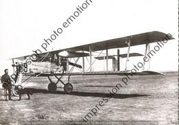 PHOTO RETIRAGE REPRINT AVION    Voisin 10    1917  1918 - Aviazione