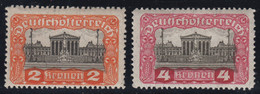 1919-PARLAMENT /OHNE STECHERZEICHEN-MINT* - Neufs