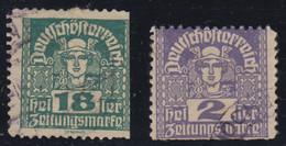 1918-MERKURKOPF /PRIVAT GEZAHNT-USED - Oblitérés
