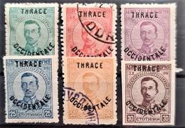 THRACE 1920 - MLH/canceled - Sc# N20-N25 - Complete Set! - Thrakien