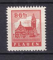 Plauen - Deutsche Lokalausgaben - 1945 - Michel Nr. 4 - Ungebr. - Occupation 1938-45