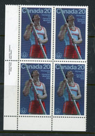 Canada MNH PB 1975 Pole Vault - Neufs