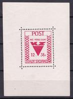 Storkow - Deutsche Lokalausgaben - 1946 - Michel Nr. Block 1 - Ungebr. - Occupation 1938-45