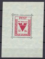 Storkow - Deutsche Lokalausgaben - 1946 - Michel Nr. Block 2 - Ungebr. - Occupation 1938-45