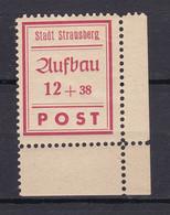 Strausberg - Deutsche Lokalausgaben - 1946 - Michel Nr. 37 A Ecke - Ungebr. - Occupation 1938-45