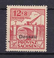 Dessau - Deutsche Lokalausgaben - 1946 - Michel Nr. II A - Ungebr. - Occupation 1938-45