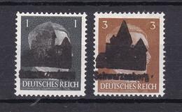 Schwarzenberg - Deutsche Lokalausgaben - 1945 - Michel Nr. 1/2 - Ungebr. - Occupation 1938-45