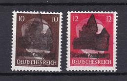 Schwarzenberg - Deutsche Lokalausgaben - 1945 - Michel Nr. 7/8 - Ungebr. - Occupation 1938-45