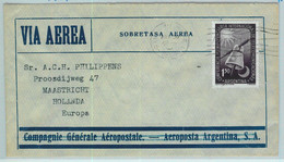 94112 - ARGENTINA - POSTAL HISTORY - AIRMAIL COVER To HOLLAND  Aeropostale  1954 - Briefe U. Dokumente
