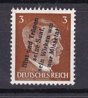Mühlberg - Deutsche Lokalausgaben - 1945 - Michel Nr. 2 - Ungebr. - Occupation 1938-45