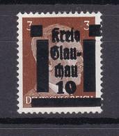 Glauchau - Deutsche Lokalausgaben - 1945 - Michel Nr. 1 - Ungebr. - Occupation 1938-45