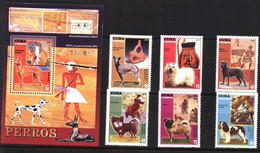 #1509 CARIBBEAN 2010 FAUNA,DOGS IN THE ARCHEOLOGY SET+S/SHEET YV 4841-6+BL 272 MNH,NEUF,POSTFRISCH - Archaeology
