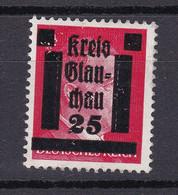 Glauchau - Deutsche Lokalausgaben - 1945 - Michel Nr. 7 - Ungebr. - Occupation 1938-45