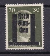 Glauchau - Deutsche Lokalausgaben - 1945 - Michel Nr. 14 - Ungebr. - Occupation 1938-45