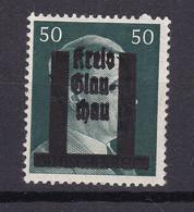Glauchau - Deutsche Lokalausgaben - 1945 - Michel Nr. 16 - Ungebr. - Occupation 1938-45