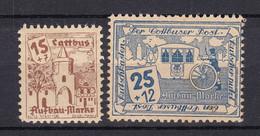 Cottbus - Deutsche Lokalausgaben - 1946 - Michel Nr. - 9 + 11 - Ungebr. - Occupation 1938-45