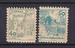 Cottbus - Deutsche Lokalausgaben - 1946 - Michel Nr. - 13/14 - Ungebr. - Occupation 1938-45