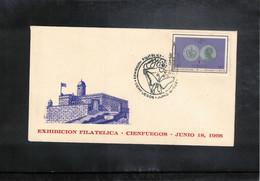 Cuba 1966 Philatelic Exhibition CIENFUEGOS - Lettres & Documents