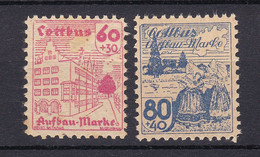 Cottbus - Deutsche Lokalausgaben - 1946 - Michel Nr. - 15/16 - Ungebr. - Occupation 1938-45