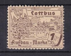 Cottbus - Deutsche Lokalausgaben - 1946 - Michel Nr. - 17 - Ungebr. - Occupation 1938-45