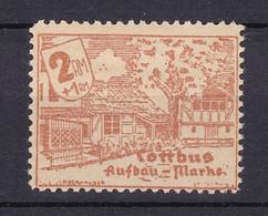 Cottbus - Deutsche Lokalausgaben - 1946 - Michel Nr. - 18 - Ungebr. - Occupation 1938-45