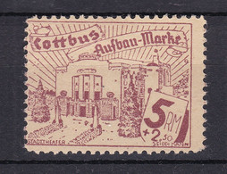 Cottbus - Deutsche Lokalausgaben - 1946 - Michel Nr. - 20 - Ungebr. - Occupation 1938-45