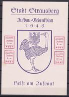 Strausberg - Deutsche Lokalausgaben - 1946 - Michel Nr. Block 3 - Ungebr. - Occupation 1938-45