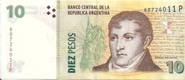 ARGENTINE 10 PESOS ND XF P 354 - Argentina