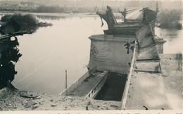Briare (45 Loiret) 17 Juin 1940 Carte Photo Du Pont Canal Détruit Par Le Génie Français - Briare