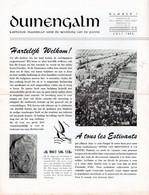 Duinenhalm Periode 1954 - 57. Achtien Tijdschriften In Goede Staat. Zeldzaam Te Vinden. La Panne - De Panne - Geography & History