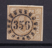 Bayern - 1862 - Michel Nr. 11 - Gestempelt - 20 Euro - Bavaria