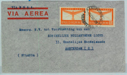 94128 - ARGENTINA - POSTAL HISTORY -  AIRMAIL  Cover To HOLLAND Via BSAA  1946 - Briefe U. Dokumente