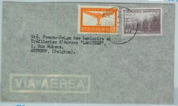 94129 - ARGENTINA - POSTAL HISTORY - Airmail COVER To BELGIUM - Briefe U. Dokumente