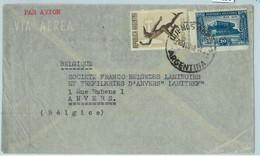 94131 - ARGENTINA - POSTAL HISTORY - Airmail COVER To BELGIUM  1948 - Briefe U. Dokumente