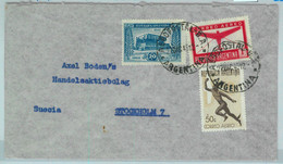 94133 - ARGENTINA - POSTAL HISTORY - Airmail COVER To SWEDEN  1945 - Briefe U. Dokumente