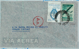 94135 - ARGENTINA - POSTAL HISTORY - PERFIN On Airmail COVER To SWITZERLAND 1941 - Briefe U. Dokumente