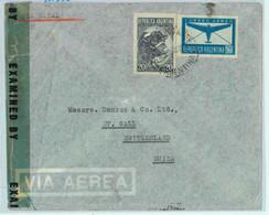 94140 - ARGENTINA - POSTAL HISTORY - CENSORED  COVER To SWITZERLAND 04.1945 - Briefe U. Dokumente