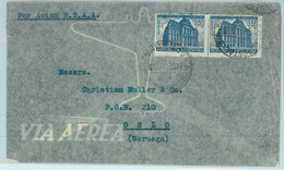 94138 - ARGENTINA - POSTAL HISTORY - AIRMAIL Cover To NORWAY  1948 Via BSAA - Briefe U. Dokumente