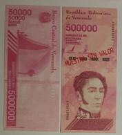 VENEZUELA NEW - 500.000 Bolivares 2019 - Unclassified