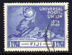 Fiji 1949 KGV1 1/-6d UPU Postal Union Used SG 275 ( J273 ) - Fidschi-Inseln (...-1970)