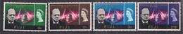 Fiji 1966 QE2 Churchill Set Umm SG 345 - 348 ( A737 ) - Fidschi-Inseln (...-1970)