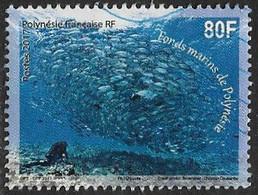 French Polynesia 2017 Polynesian Seabed 80f Good/fine Used [40/32688A/ND] - Oblitérés