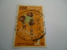 ISRAEL   USED   STAMPS   FRUIT   WITH   POSTMARK - Ohne Zuordnung