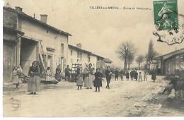55 VILLERS SUR MEUSE ROUTE DE GENICOURT 1909 CPA 2 SCANS - Other Municipalities