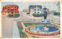 21-4520 :  DEAUVILLE. PLACE MORNY - Deauville