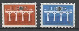 Yougoslavie - Jugoslawien - Yugoslavia 1984 Y&T N°1925 à 1926 - Michel N°2046 à 2047 *** - EUROPA - Ungebraucht