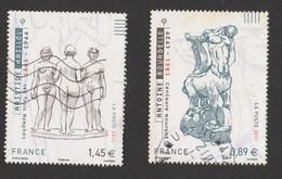 FRANCE 2011 Timbre Issu Du Bloc F4626 Bourdelle Maillol Timbre Oblitéré - Used Stamps