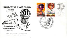 44347 - Ballon Monté En SAVOIE - 1961-....