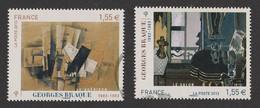 FRANCE 2013 Timbre Issu Du Bloc F4800 Georges Braque 1882 - 1963 Timbre Oblitéré - 2010-.. Matasellados